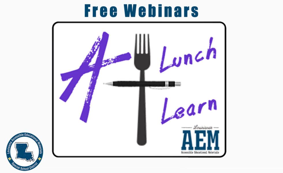 Click to access the free webinar schedule via eventbrite