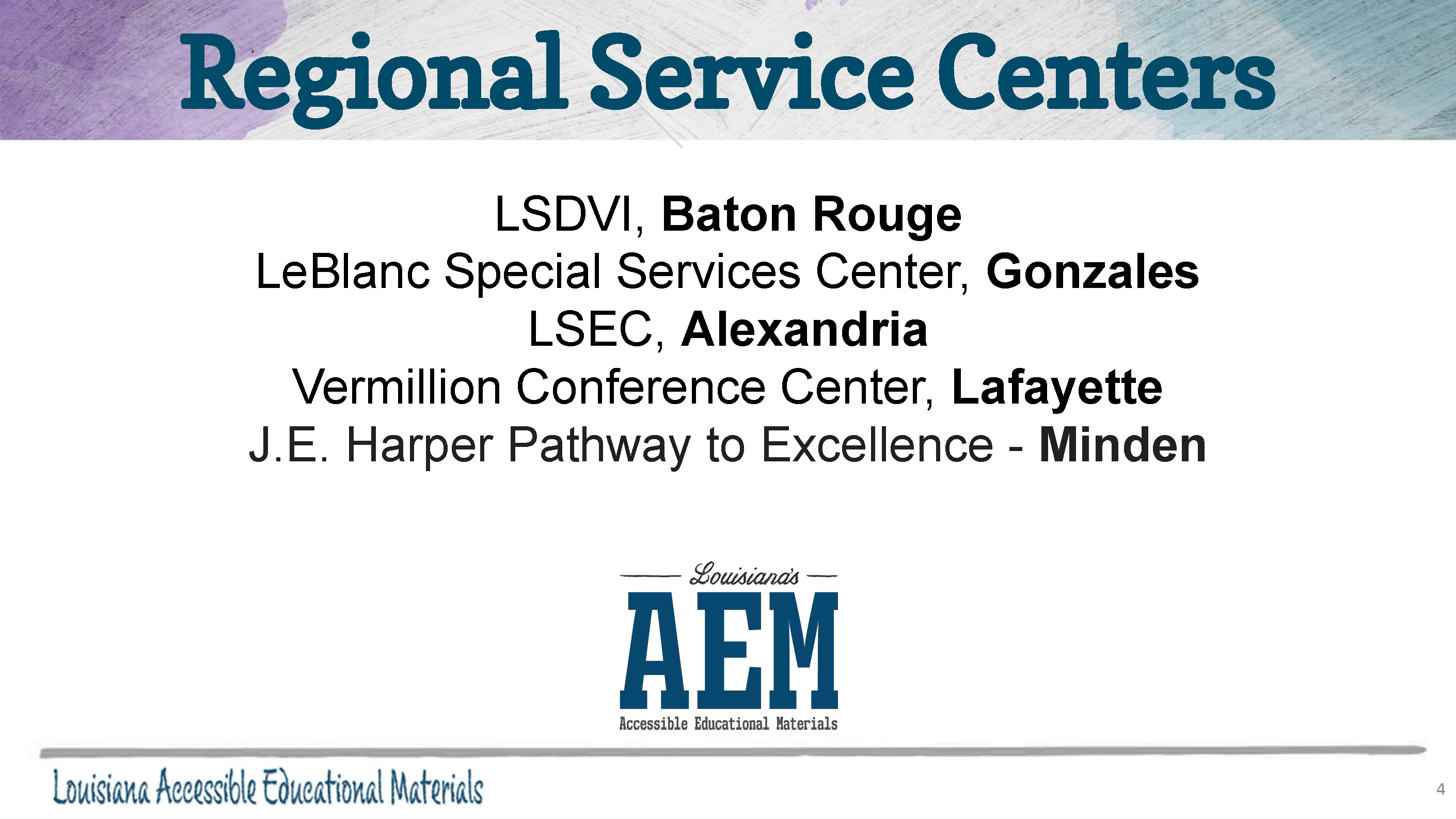 What is Louisiana AEM__Page_4