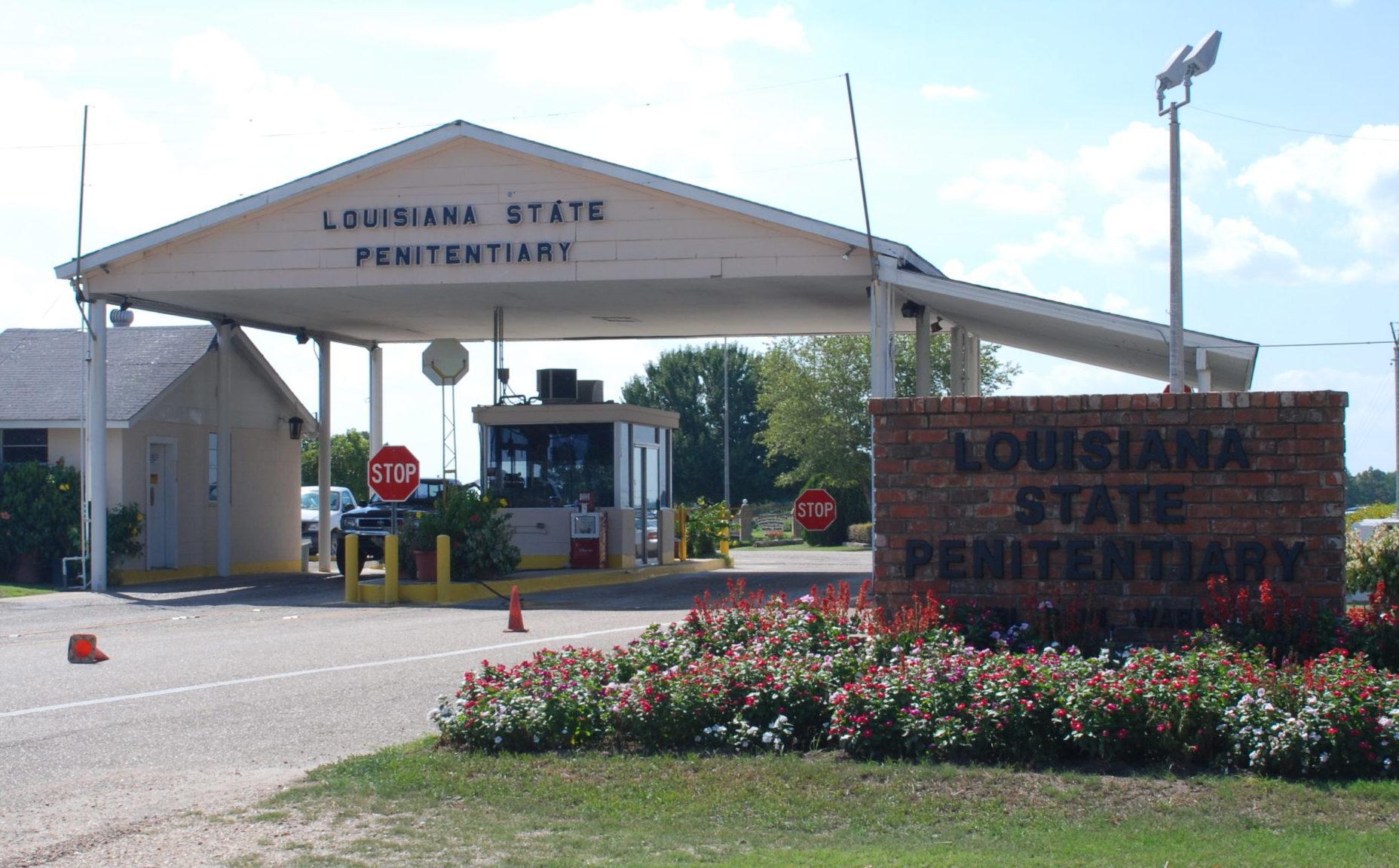 Entrance to Angola Prison