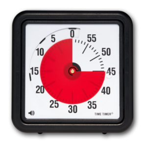 8-inch Timetimer w/audio