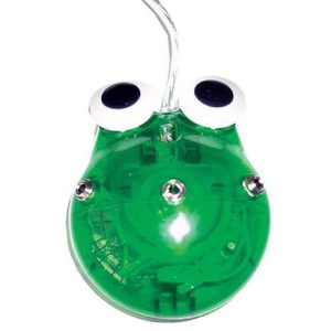 Computer Mouse Frog w/3 switch ports
