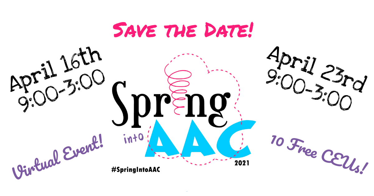 Save the Date Spring into AAC