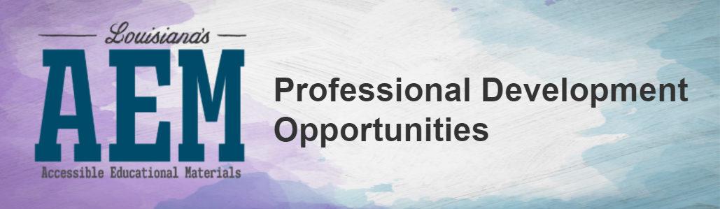 AEM PD Opportunities